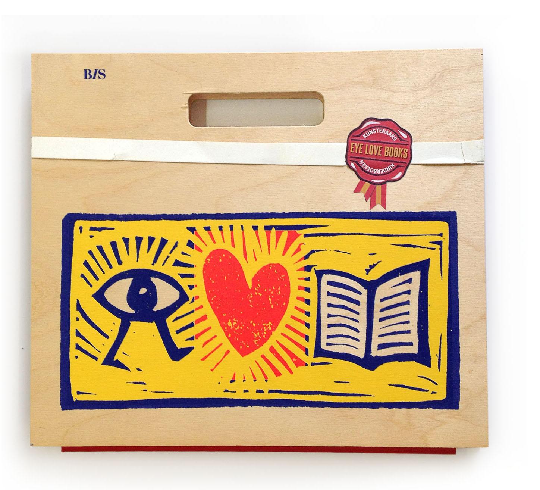 eye love books cover