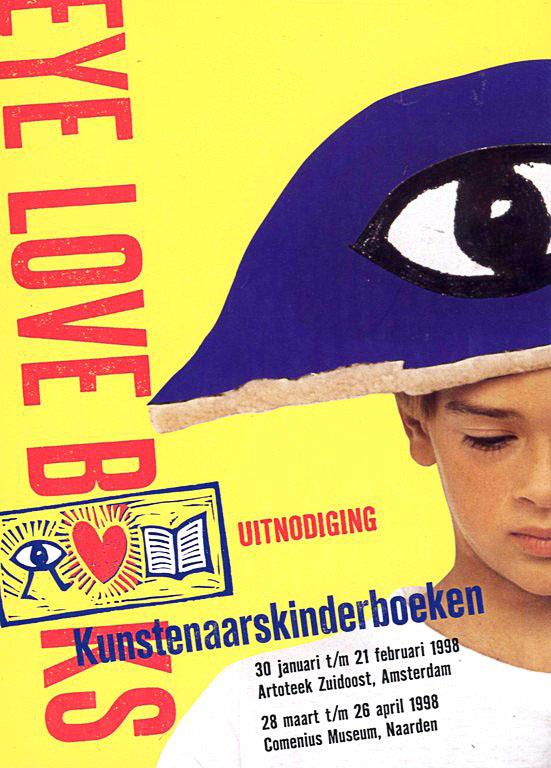 poster eye love books